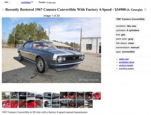 Craigslist-Car-Listings