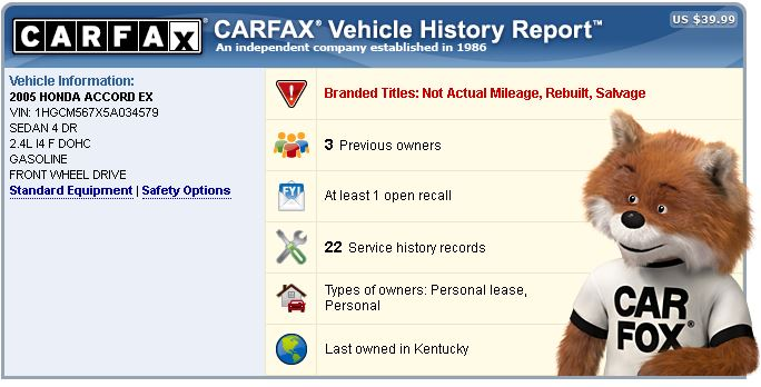 How To Get A Carfax Report For Free