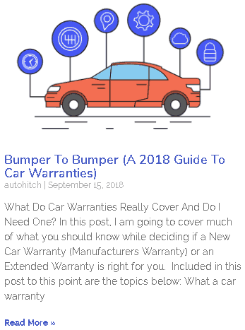 Bumper to Bumper (a guide to car warranties)