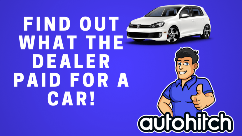 How do you find out how much a dealer paid for a car?