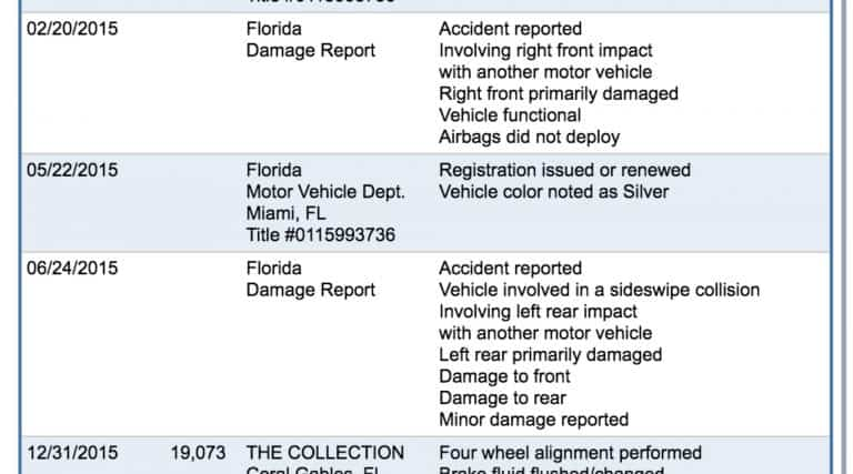 Functional Damage Reported