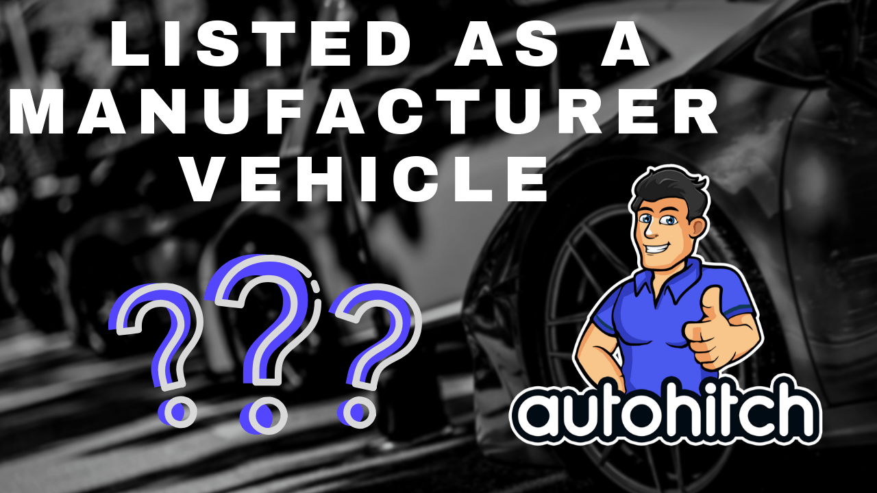 What Does Manufacturer Buyback Mean >> Listed As Manufacturer Vehicle Sold At Auction